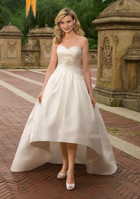For the wedding dress trends of 2011 ready to show it off
